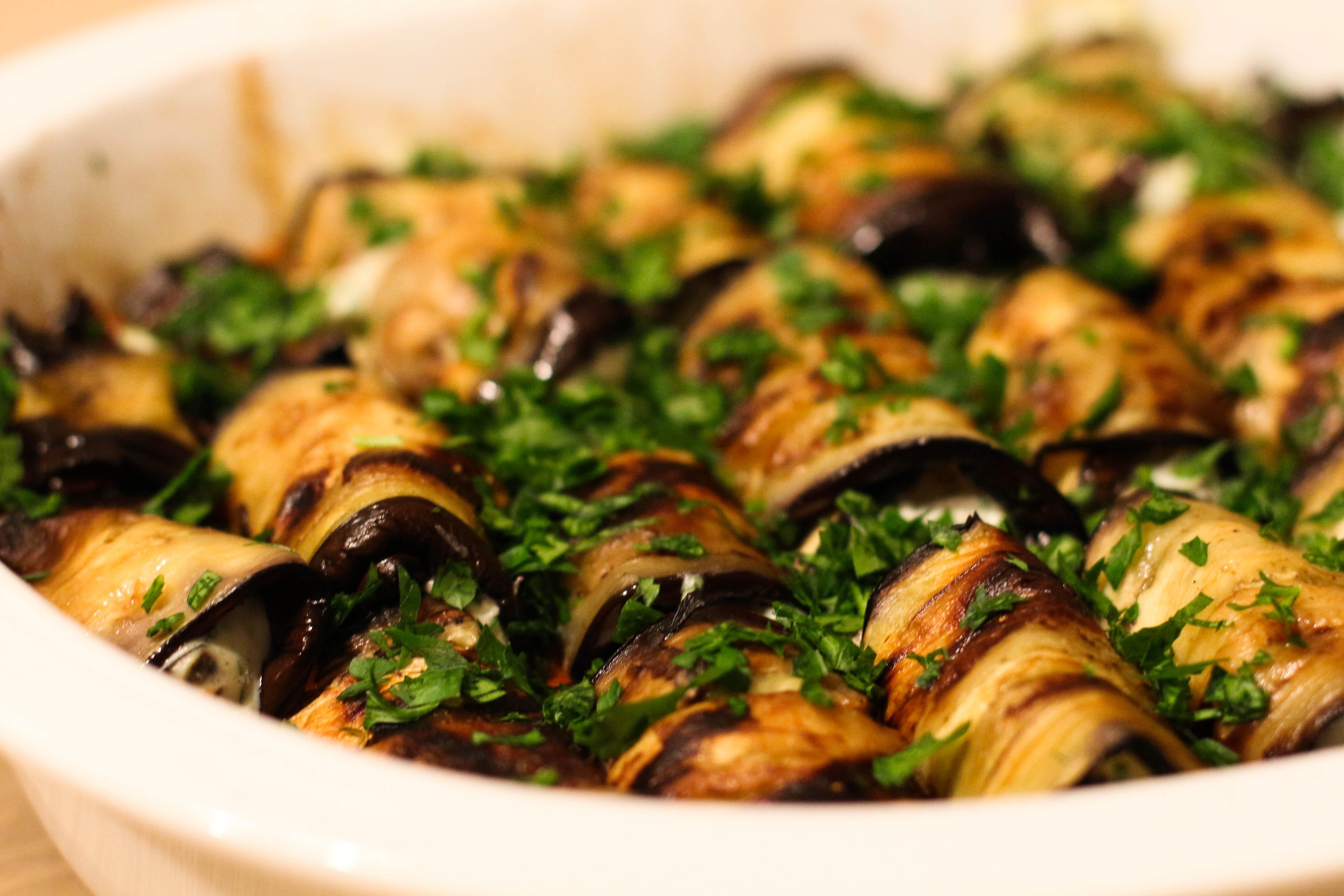 Eggplant Cannelloni Recipe — Dishmaps